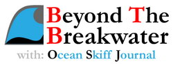 Saltwater fly fishing | Beyond The Breakwater | Ocean Skiff Journal Logo